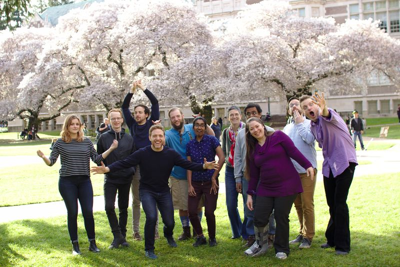 Community data science collective group photo (April, 2018)